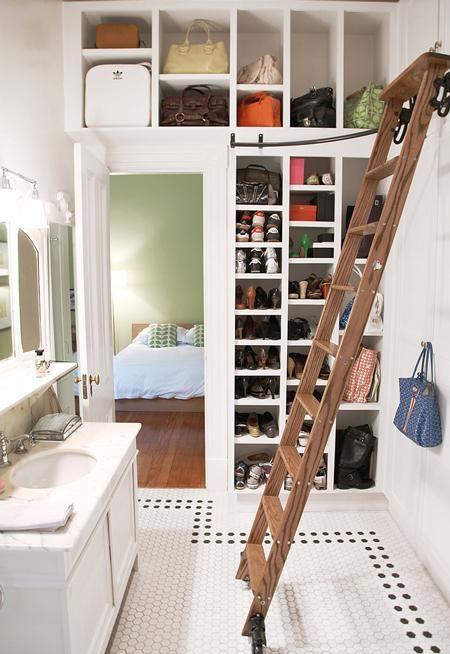 Bedroom Für And Kleine Leiter Den EinbauschrankWardrobe 2HED9I