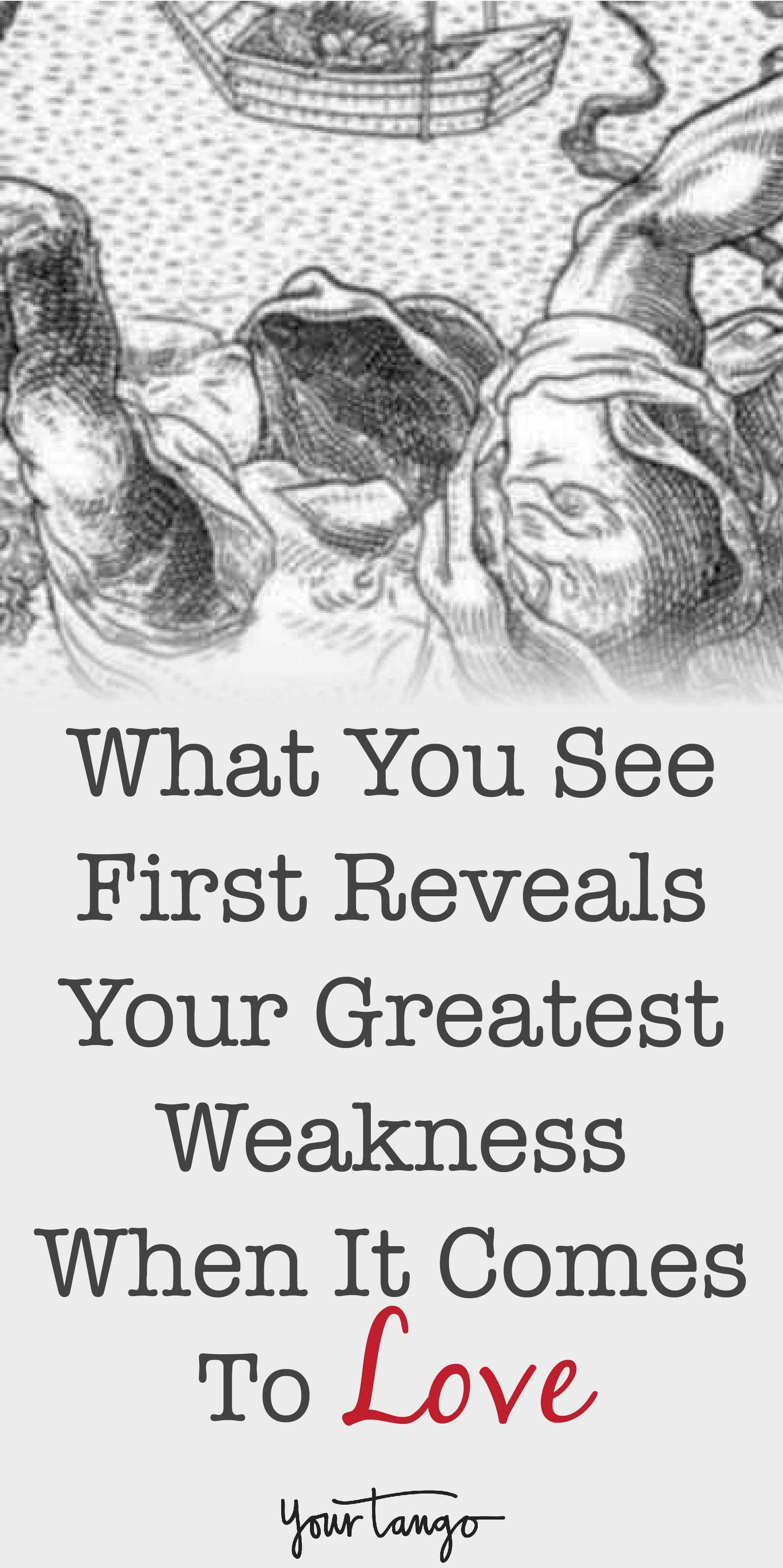 What You See First Reveals Your Greatest Weakness When It