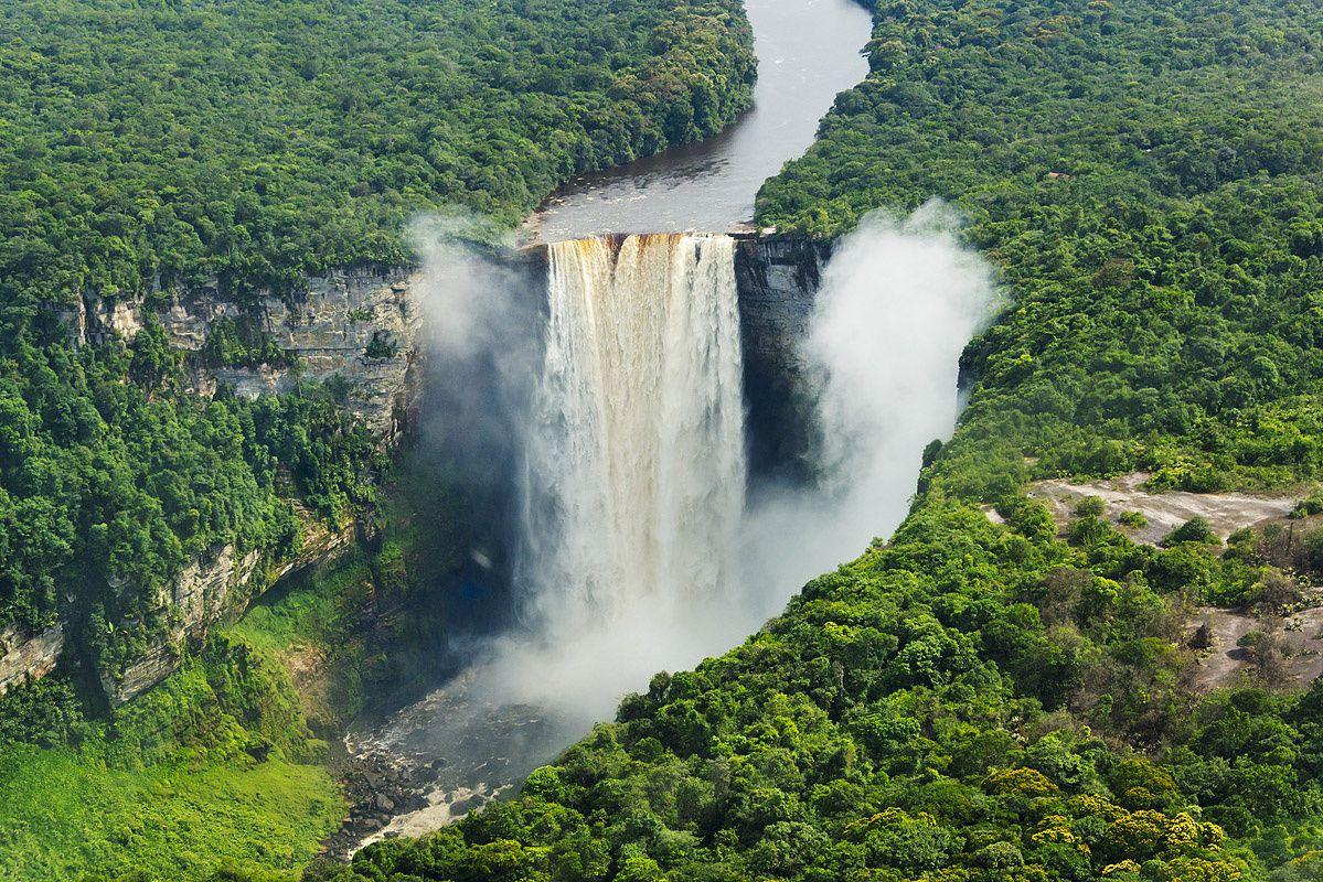 Cataratas Kaieteur, Esequibo (Venezuela)