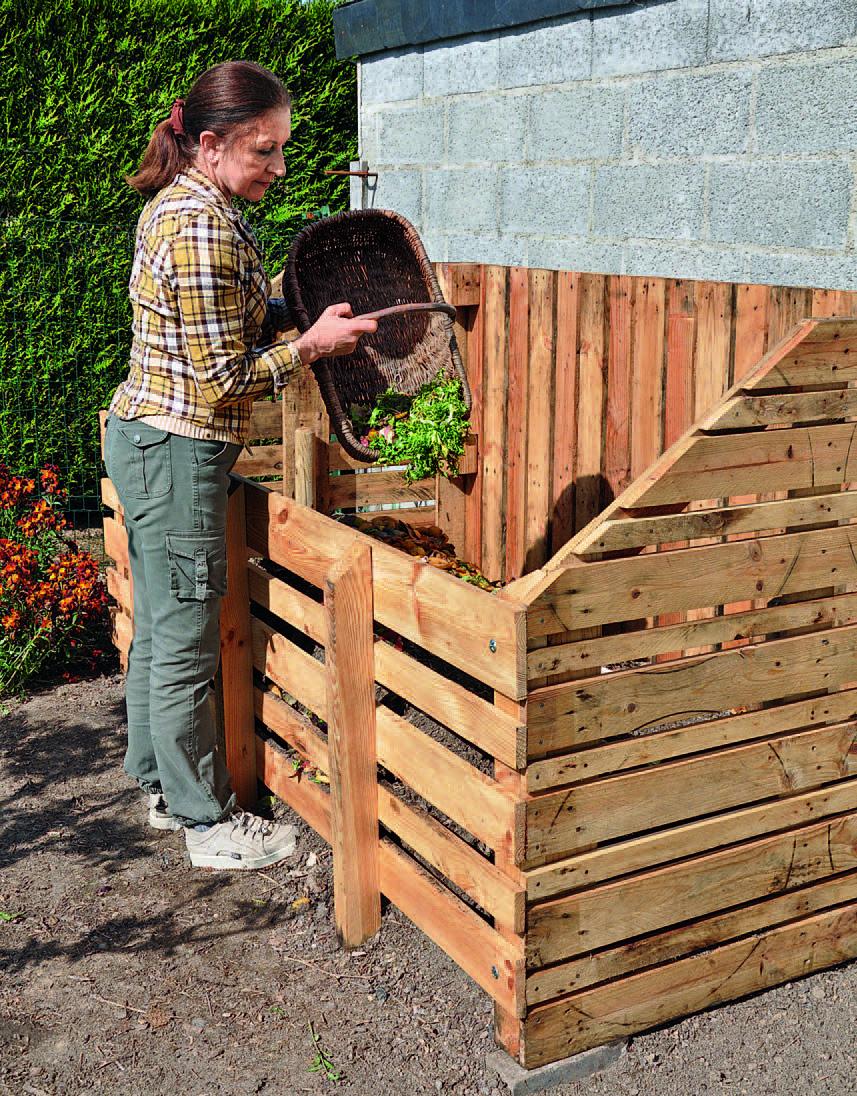 Fabriquer Un Composteur Avec Des Palettes fabriquer un composteur en bois de palette | composteur de