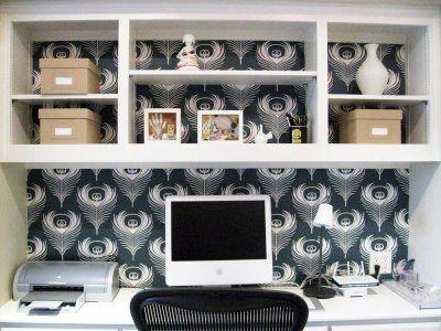 built ins - wallpaper