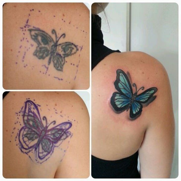 55 Cover Up Tattoos: Impressive Before & After Photos