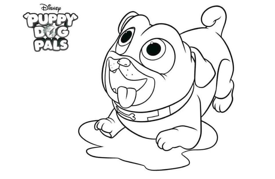 Puppy Dog Pals Coloring Pages Best Coloring Pages For Kids Puppy Coloring Pages Bunny Coloring Pages Coloring Pages