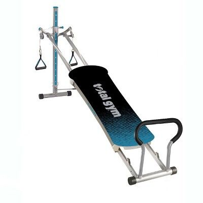 Total Gym Fitness Fusion Full Body Workout Home Fitness Exercise Machine, Teal #abexercisemachine