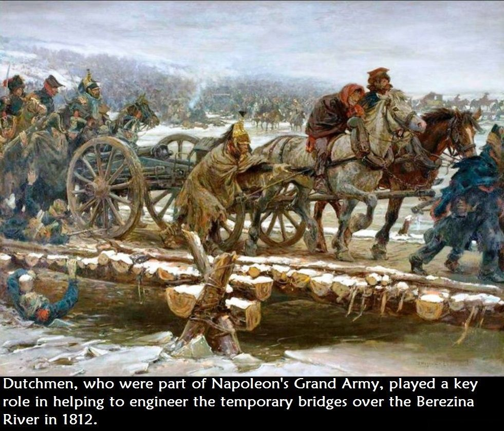 29 November 1812 Napoleon S Grand Army Crosses Berezina River In