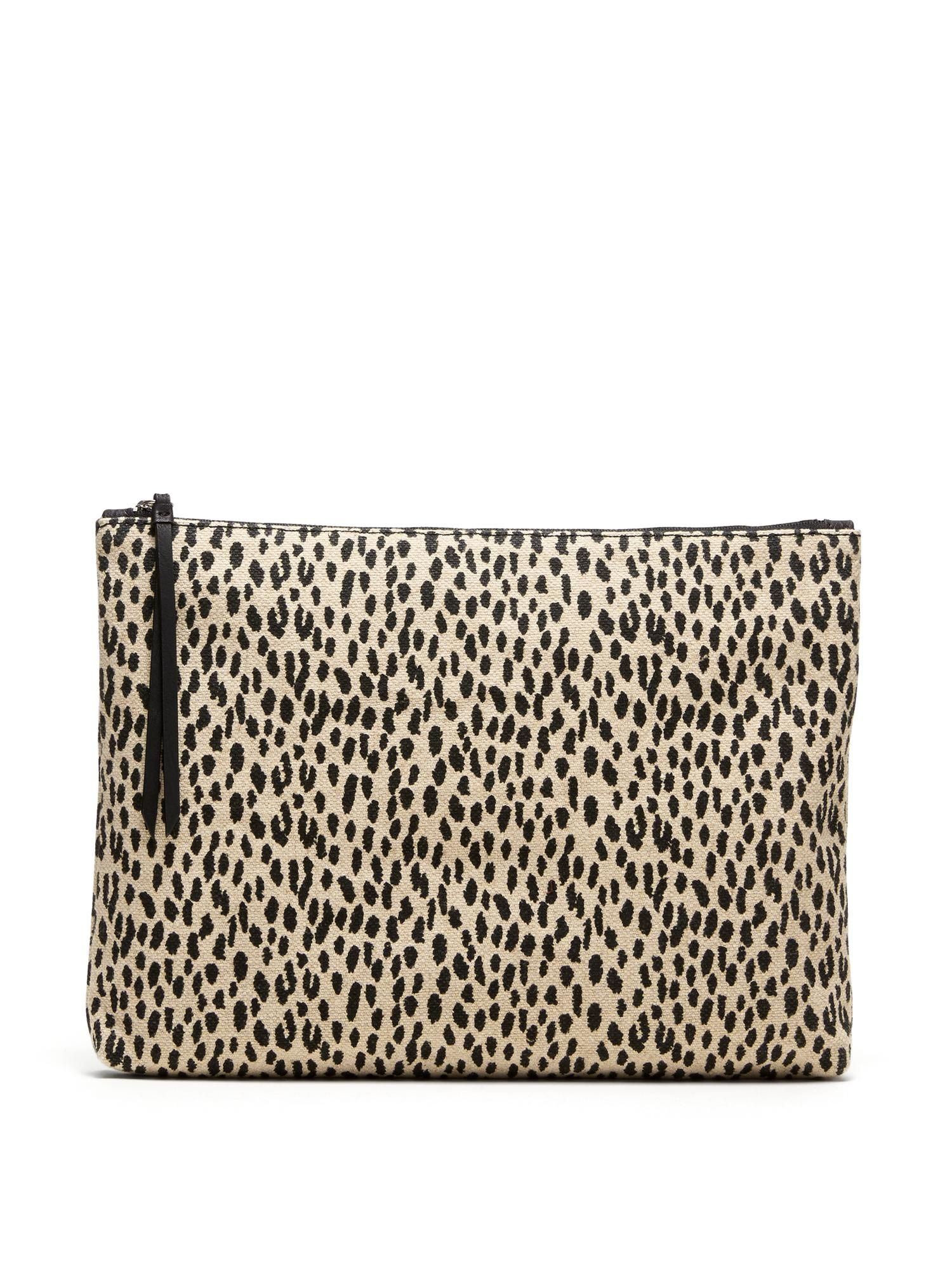 Women s Jewelry   Accessories  shop all handbags. Large Animal Print Zip  Pouch  e387ff3ddd0ac