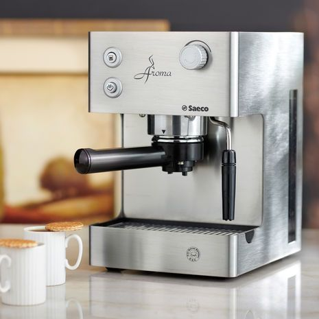Stainless Steel Aroma Espresso Machine By Saeco 300 00 At Starbucks