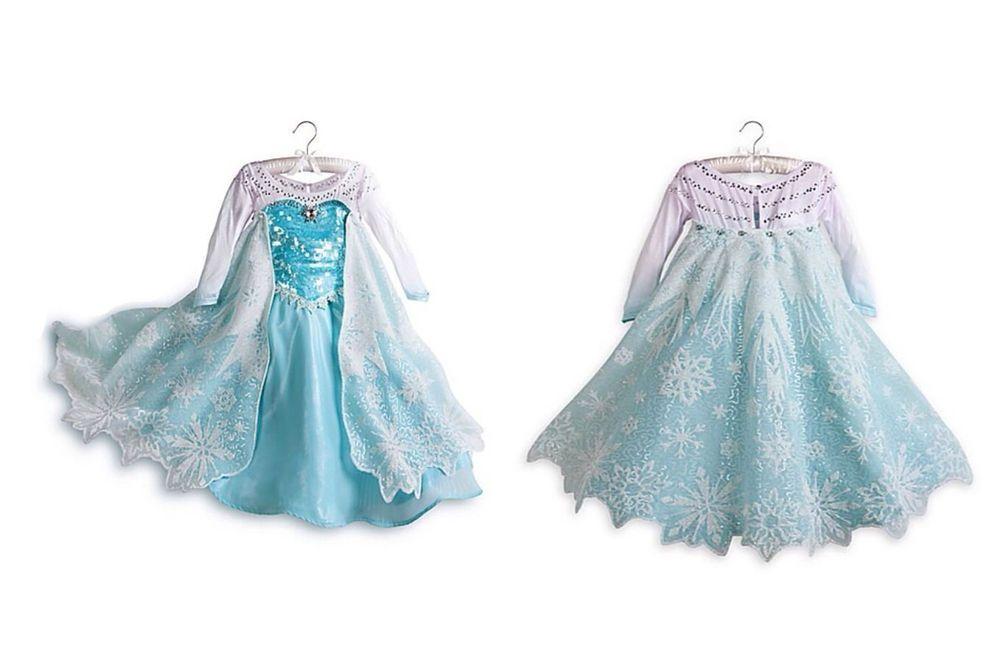2015 Elsa Frozen robe Handmade flocons de neige /& Sparkle Disney inspiré
