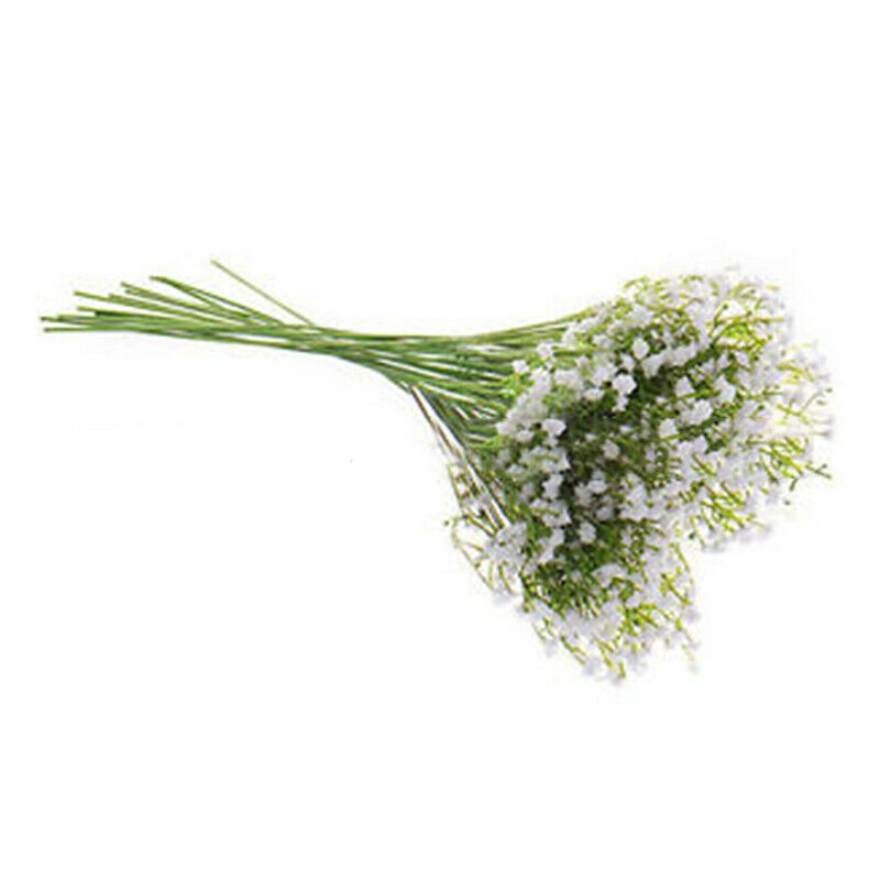 Branch About 48 Head Flowers Material Silk Plastic Perfect For Wedding Photography And Good Shooting Viled Flowers Bouquet Gypsophila Silk Flower Bouquets