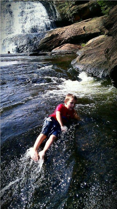 Alex at High Falls