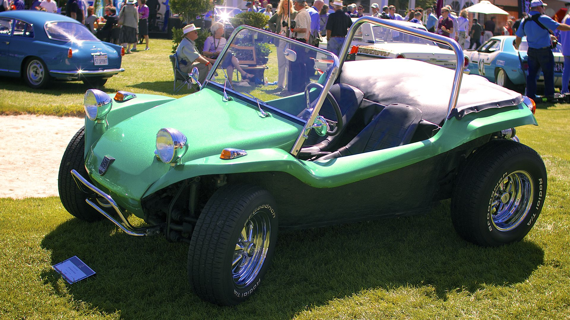 Bruce Meyers is the man who invented the Meyers Manx, the original ...