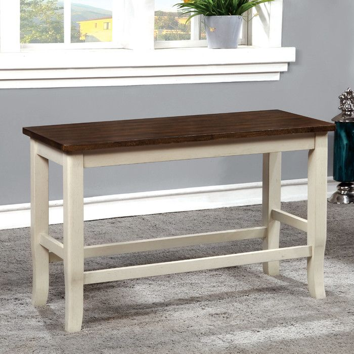 Marilou Bench Counter Height Bench Farmhouse Dining Table