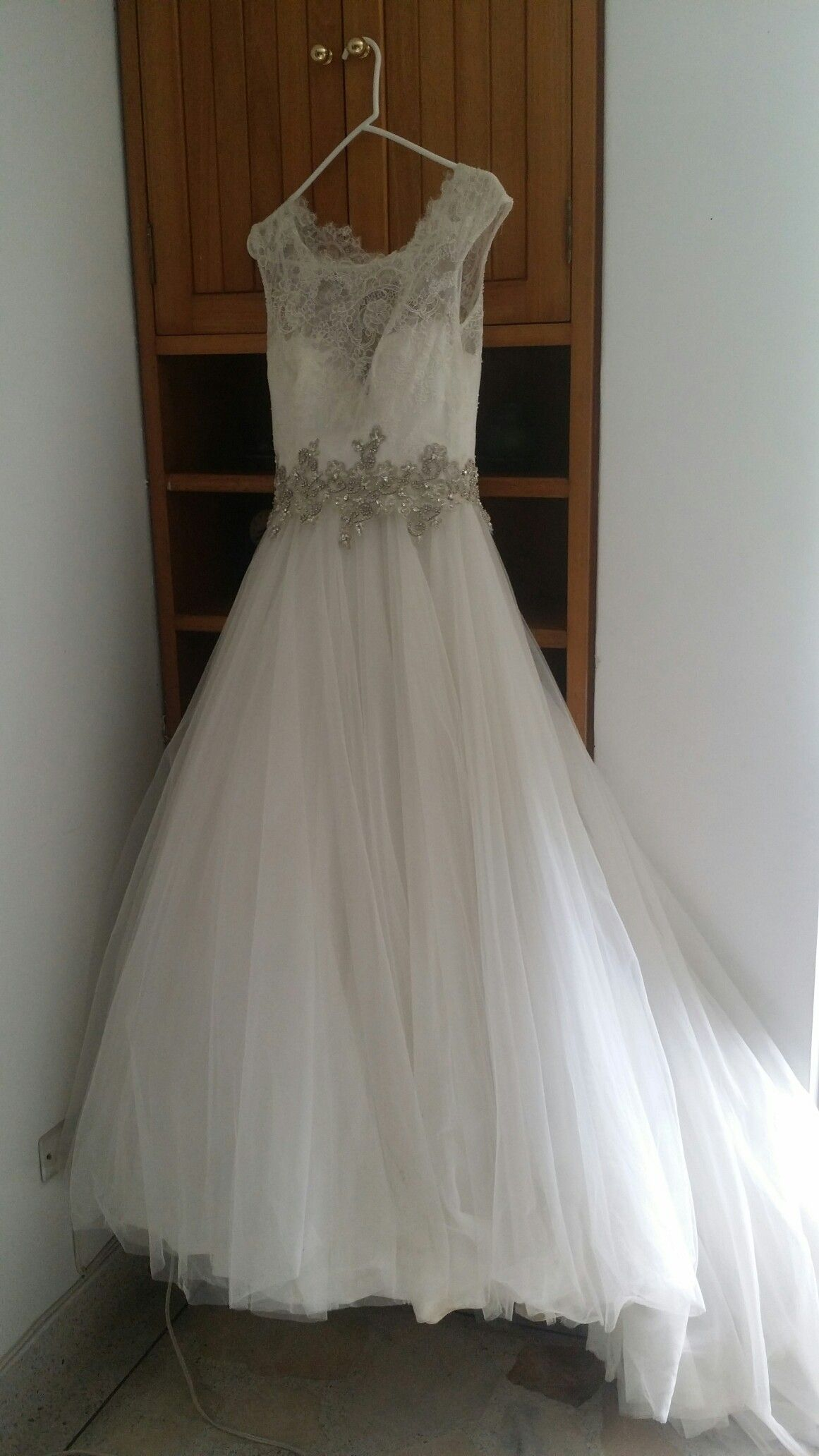 Vestido novia hermoso