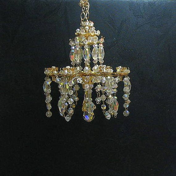Dollhouse Crystal Chandelier By Marmades On 185 00