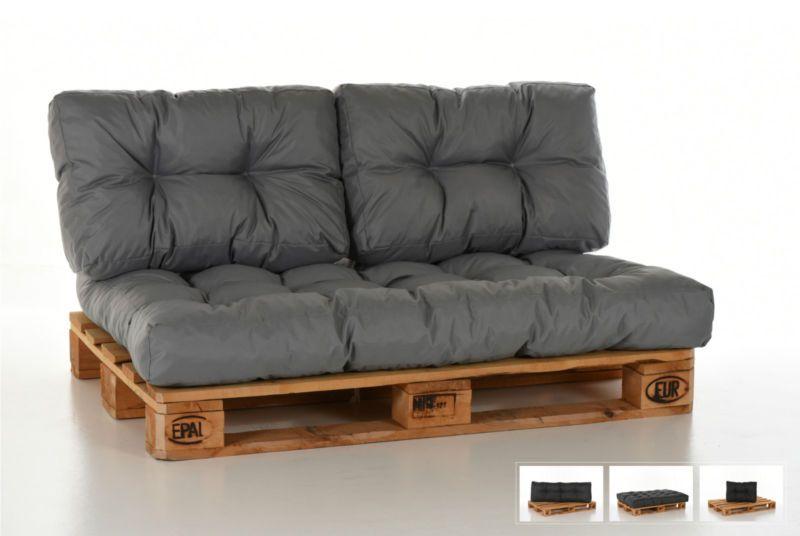 palettenkissen palettenpolster palettenauflage paletten kissen auflage polster f terasse. Black Bedroom Furniture Sets. Home Design Ideas