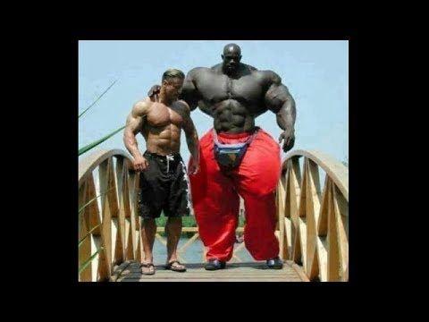 El Hulk Afroamericano El Hombre Más Grande Y Fuerte Del Mundo El Hombre Increible Imágenes Graciosas Fisicoculturistas