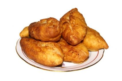 Photo of Fried dumplings made from kefir