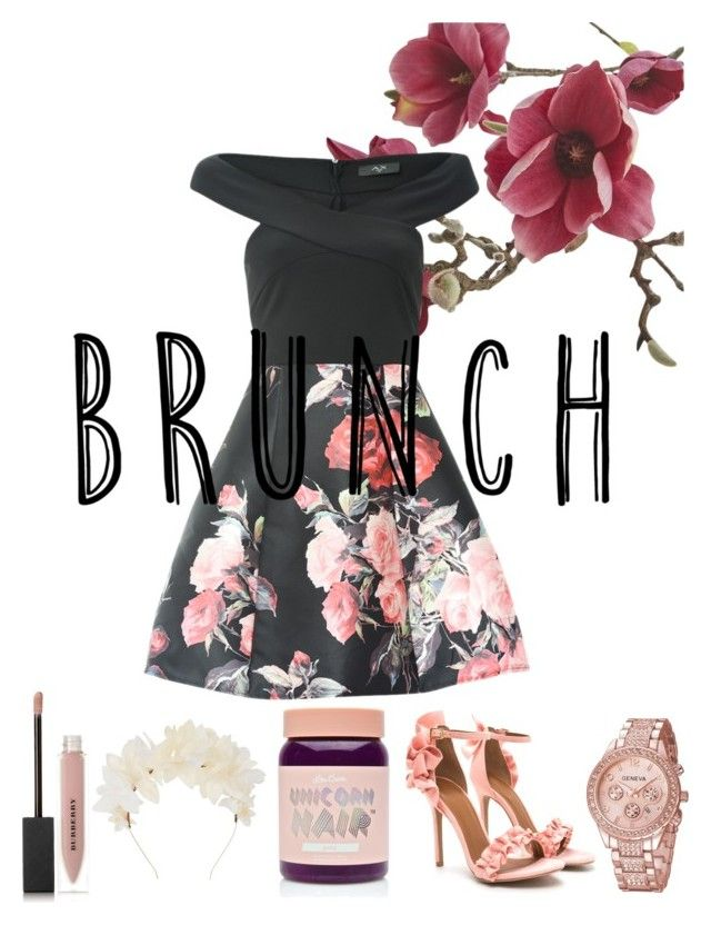 """""""Untitled #80"""" by picturesarelimitless on Polyvore featuring Crate and Barrel, Lime Crime, Lizzie Fortunato and Burberry"""