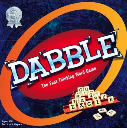 Amazon.com: Dabble - The Fast Thinking Word Game: Toys & Games