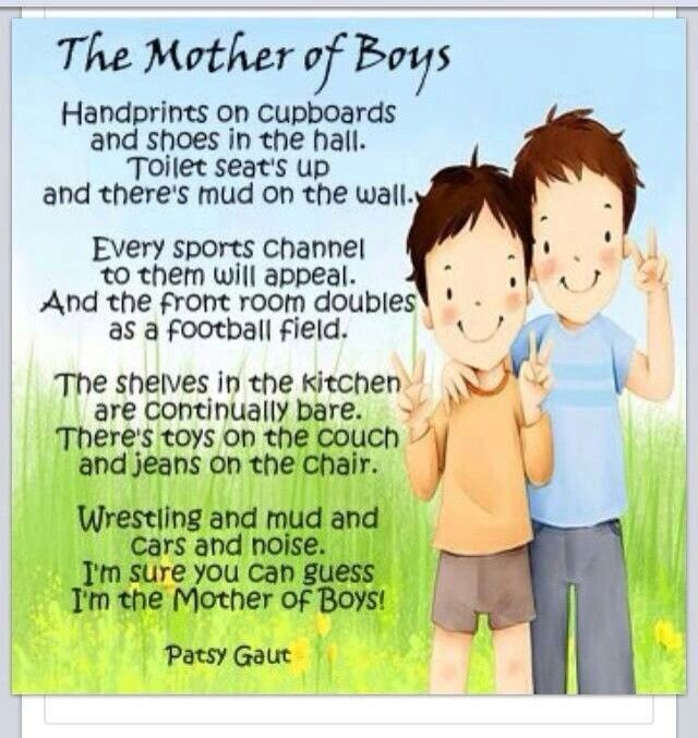 I M The Mother Of 2 Boys With Images Mothers Of Boys Mother