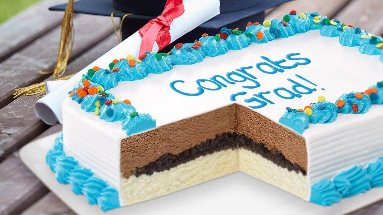 Graduation ice cream cake ice cream cake carvel ice