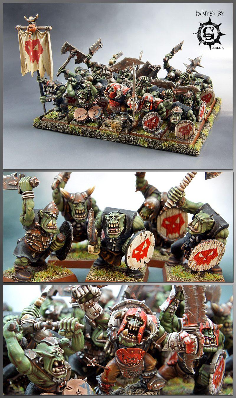Coolminiornot Orc Regiment Warhammer Fantasy Fantasy Miniatures Warhammer Fantasy Battle