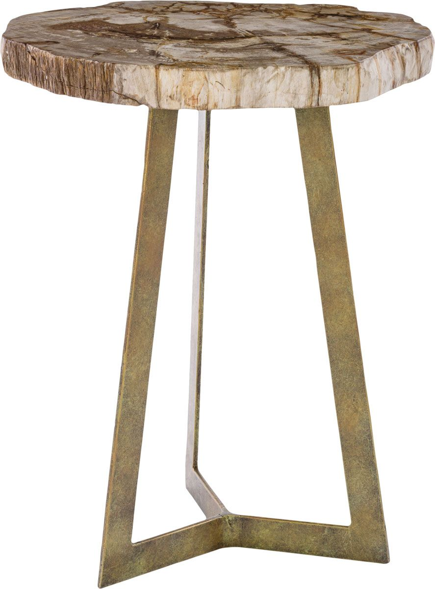CASSIA SIDE TABLE SFV7003A Accent Tables Safaviehs Nature