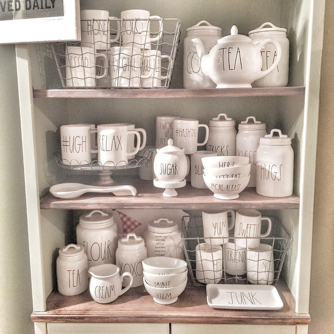Rae Dunn Display Ideas To Make Beautiful Decor In Your