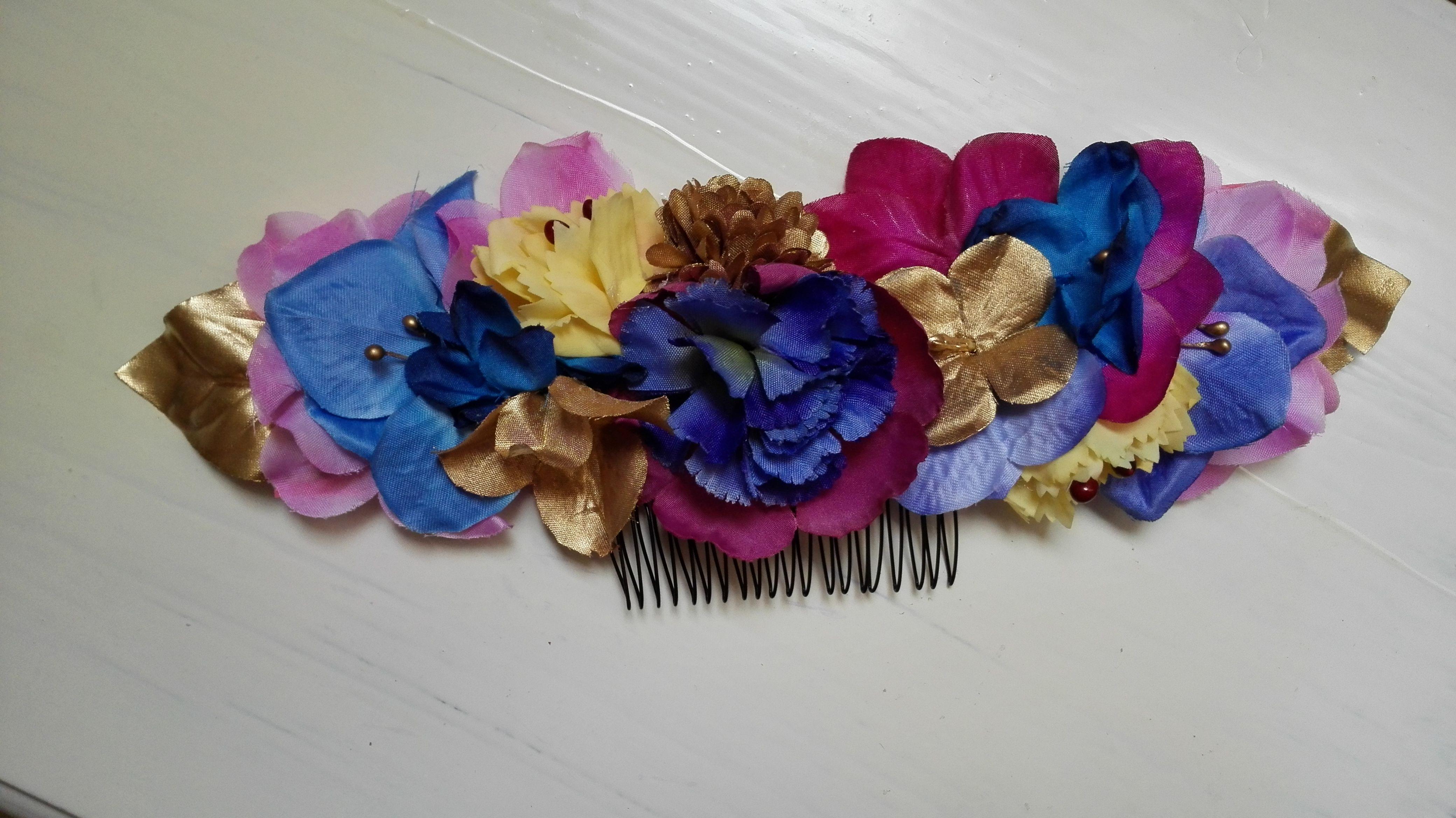 Peineta de flores cinturón de flores cinturones de flores invitada perfecta Miss Daisy
