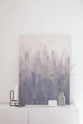 Uberlegen 3 Mal DIY Kunstwerke Für Die Wand | Art | Pinterest | Dekoration, Malerei  Und Leinwand