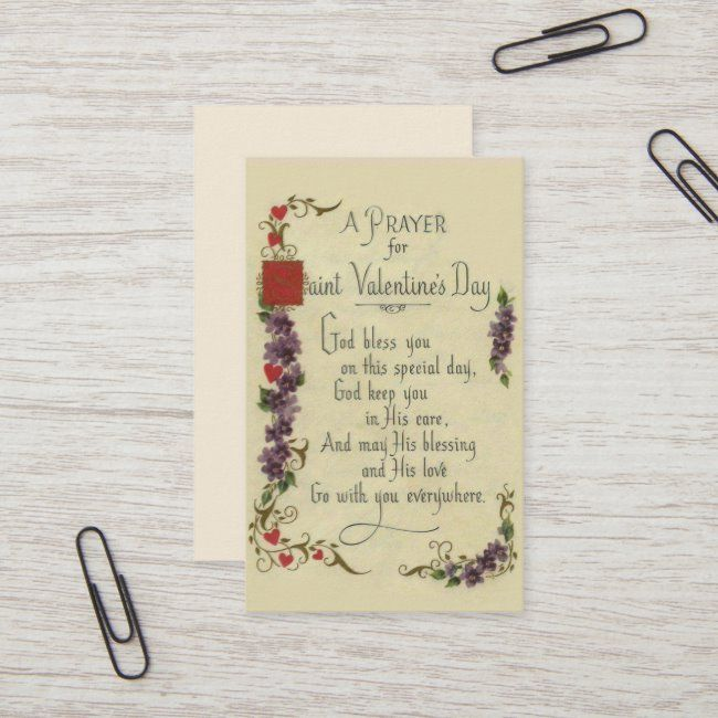 Valentine's Day Greeting Religious Prayer Cards #affiliate , #spon, #Greeting#Religious#Prayer#Day