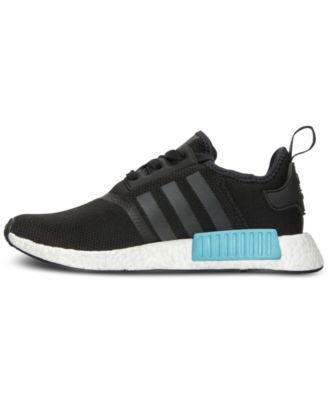 hot sale online edaef 9250b adidas Women s Nmd R1 Casual Sneakers from Finish Line - Black 9.5