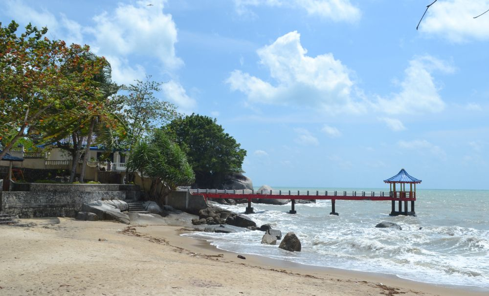 Pantai Tanjung Bemban Pantai Wisata Resmi Visit Batam 2010