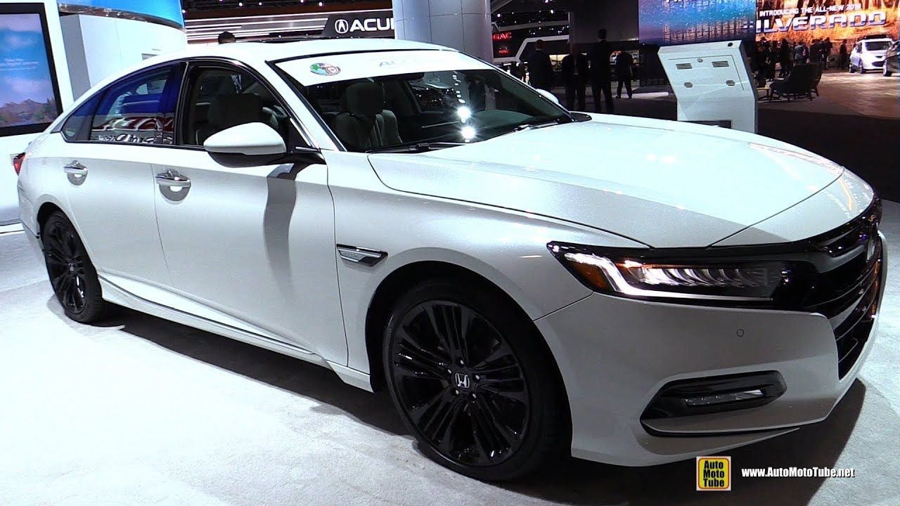 2018 Honda Accord 2.0T Touring Exterior and Interior