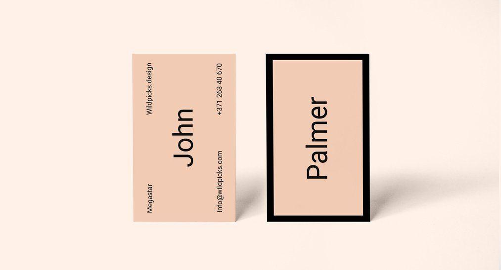 Simple Business Card Mockup | Free Business Card Mockup PSD ...