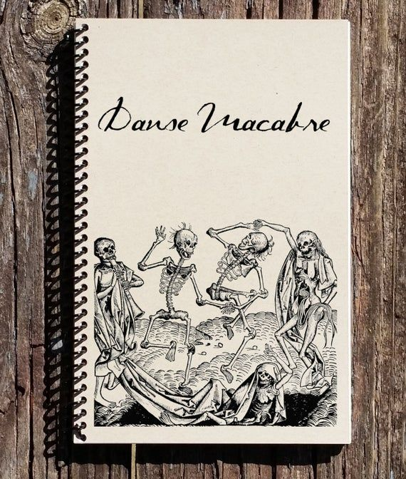 Photo of Danse Macabre – The Dance of Death – Medieval History – History Notebook – History Journal – Gift for History Buff – The Black Plague