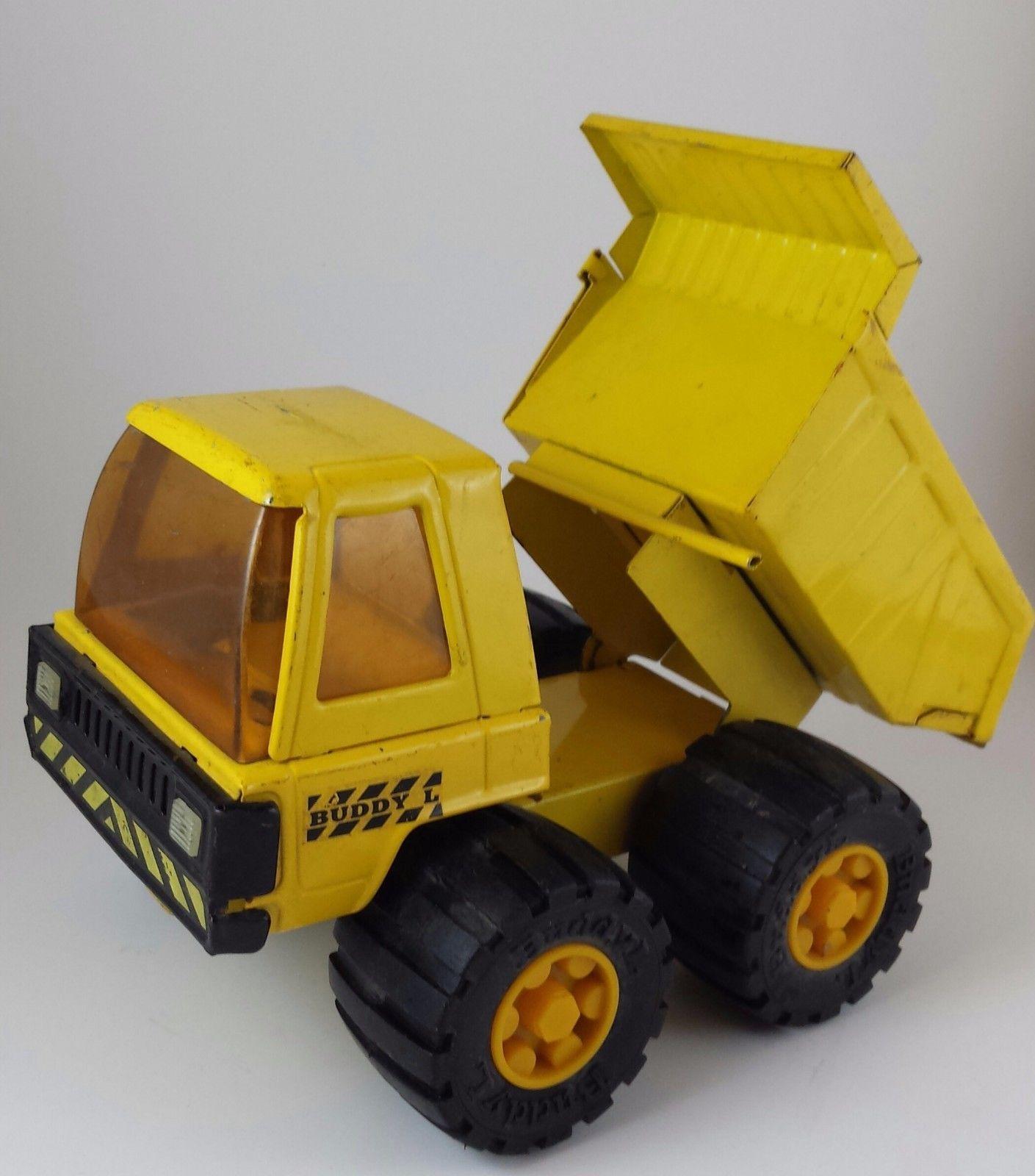 Vintage Buddy L Dump Truck Yellow Japan | eBay | TOYS-2 | Dump