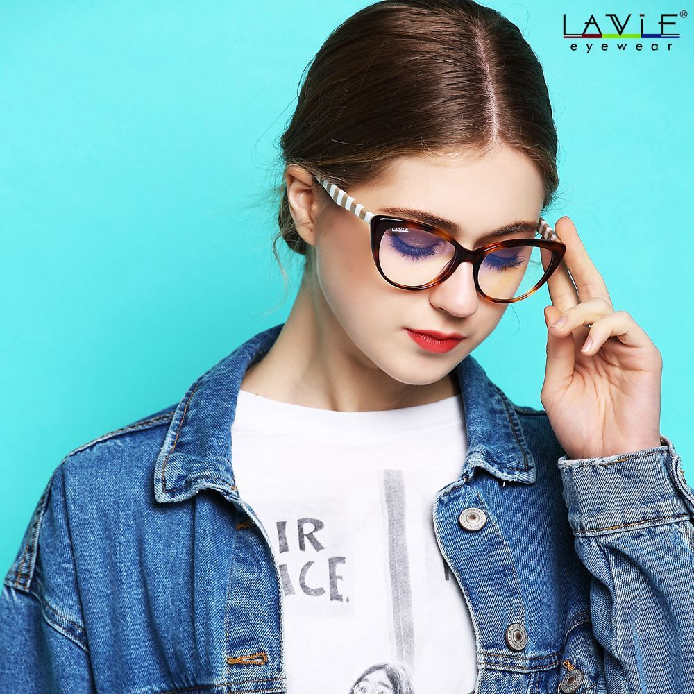 45b2e7b6990e LA VIE 2018 New Design Handmade Acetate Glasses Eyewear Frames for Young  Girls Anti Blue Rays Lenses Spectacle Computer Glasses