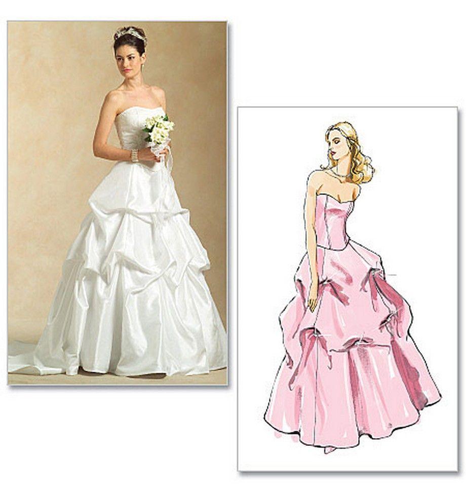 Wedding Gown Dress Patterns: Wedding Dress Sewing