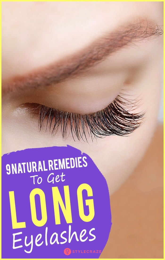 9 Natural Remedies To Get Beautifully Long Eyelashes Read On To