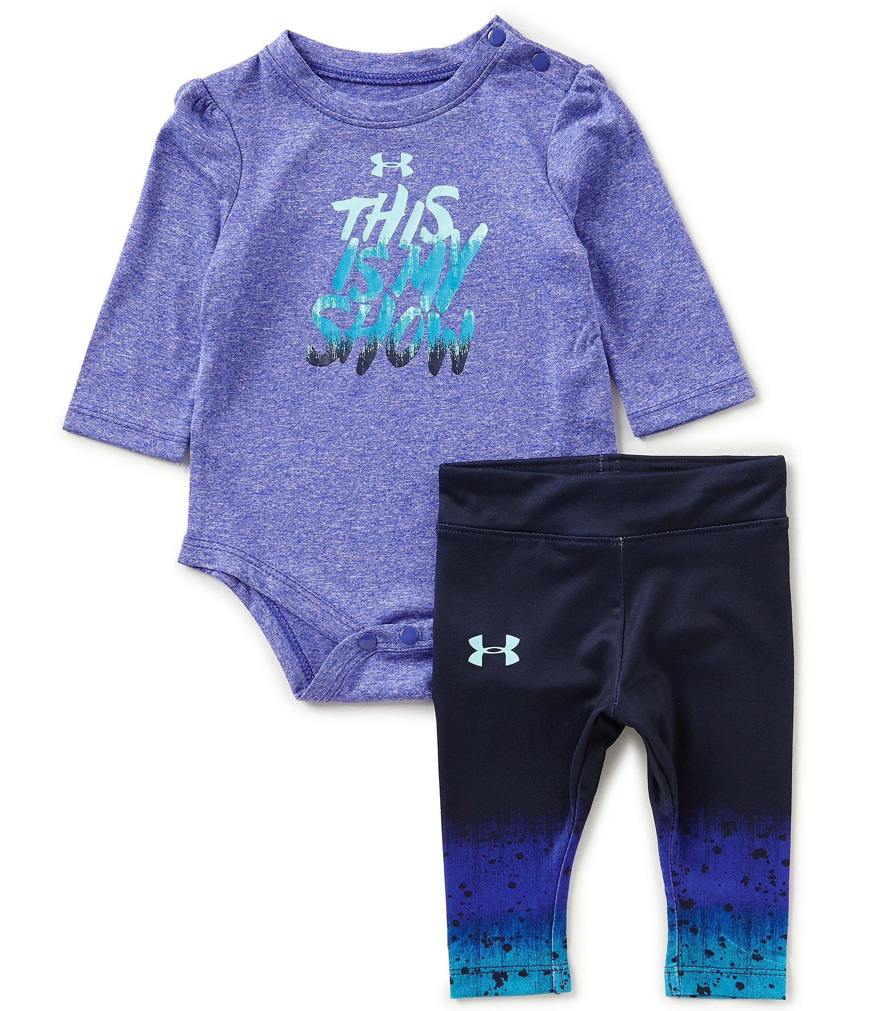 Under Armour Baby Girls Newborn12 Months This Is My Show Bodysuit