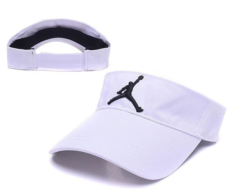 Men's / Women's Nike Air Jordan The Jumpman Embroidery Logo Vapor Shadow  Visor Velcro Strap Back