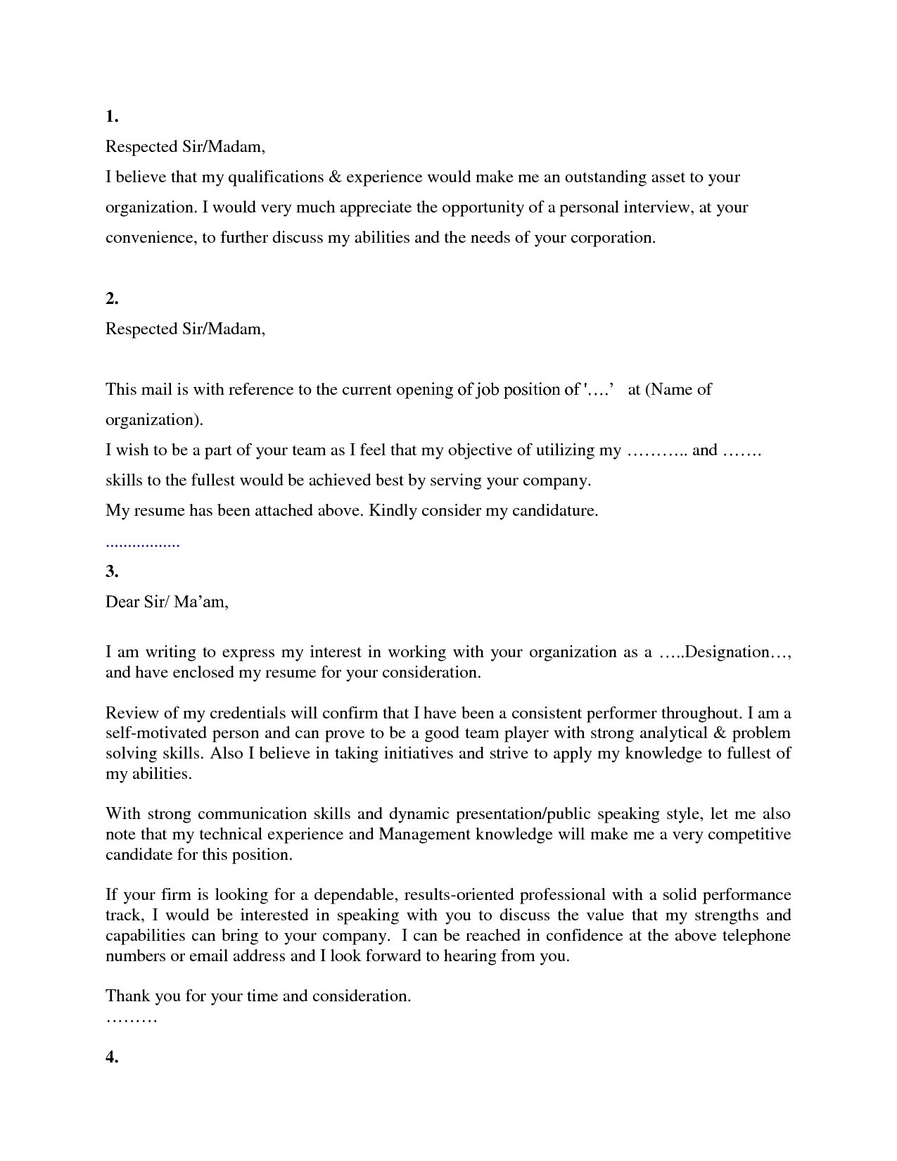 Outstanding Cover Letter Examples  Cover Letters Doc  Business