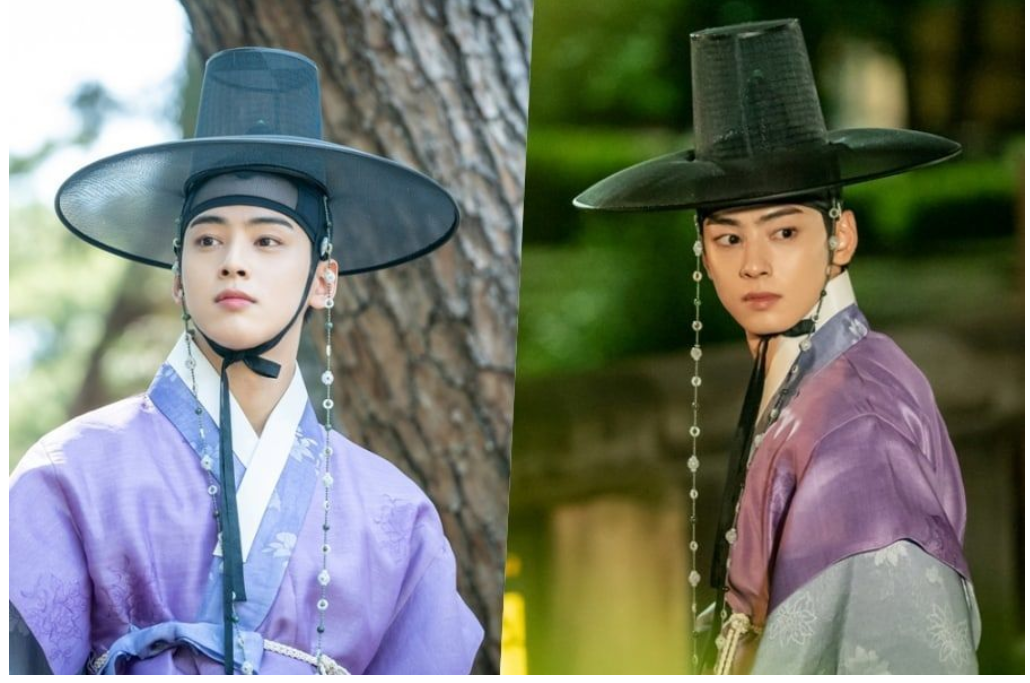 """ASTRO's Cha Eun Woo Is Cautious Outside Palace Gates In """"Rookie Historian Goo Hae Ryung"""""""