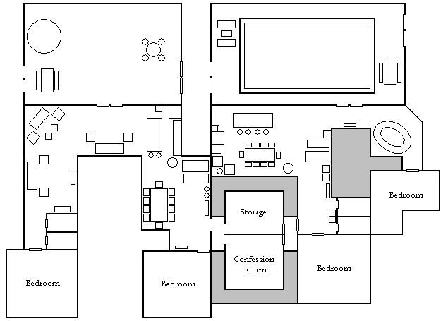 Makeup And Age With Images Big Brother House Floor Plans