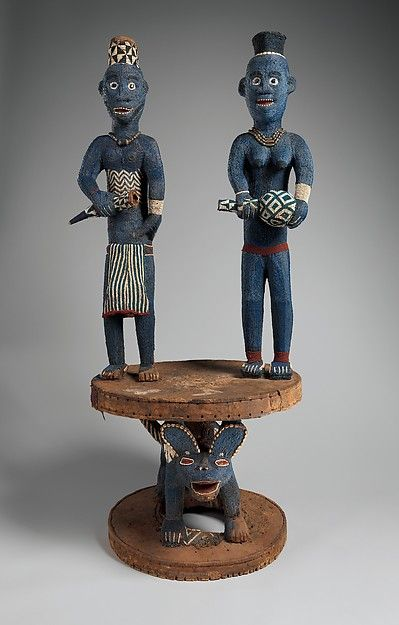 Throne of Njouteu: Royal Couple | Grasslands (Bamileke) | The Met
