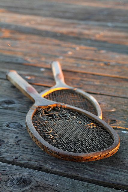 Tennis Racquets by AngelaBax on Flickr.