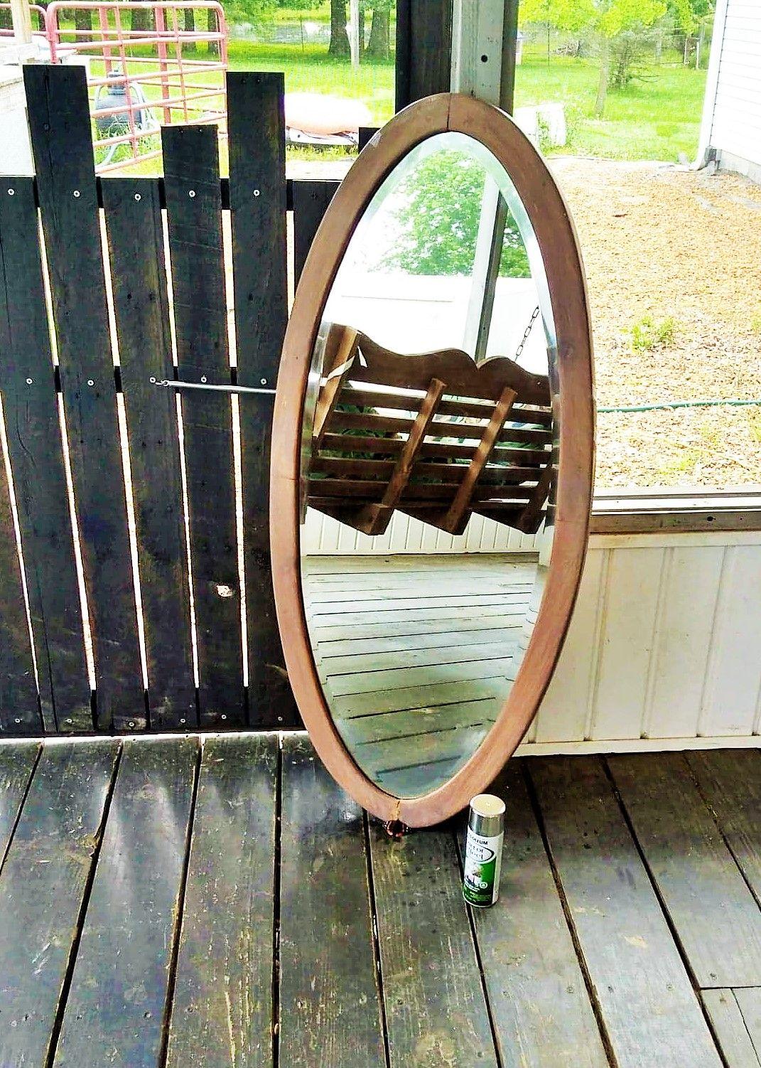 Easy mirror fix diy crafts mirror crafts