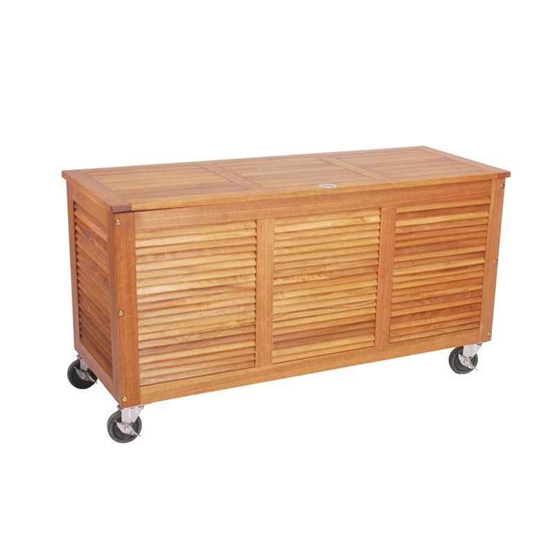 Mimosa Timber Outdoor Storage Box On Castors Bunnings Bunnings 249 Outdoor Storage Box Storage Timber