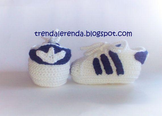 Babyschuhe Superstar Crochet Trendalerendatl Adidas Von ...